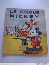 Disney Livrecoloriage 1937  Le cirque Mickey  A vendre  2ememainbe