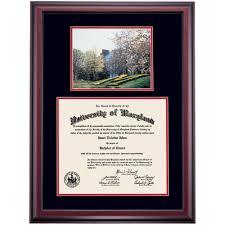 frames for diplomas of maryland diploma frames diploma display ocm