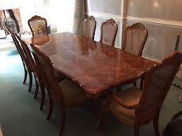 Dining Table With 8 Chairs For Sale On Classic Room Tables Intended