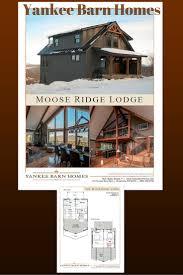 moose ridge lodge moose beams and barn
