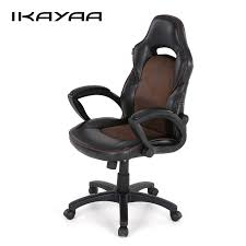 Racing Seat Desk Chair Aliexpress Com Buy Ikayaa Us Uk Stock Pu Racing Executive Office