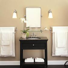 bathroom charming inexpensive black wooden single sink bathroom