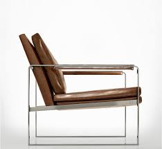 modloft charles armchair mocha bisque bicast leather matthew izzo