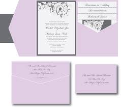 wedding invitation size purple and silver wedding invitation a vibrant wedding