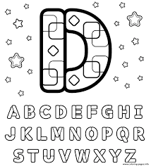 letter d printable alphabet se619 coloring pages printable