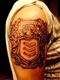 family crest sleeve ideas and family crest sleeve
