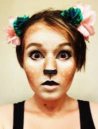 leopard halloween makeup ideas fawn makeup cute for halloween celebrate pinterest makeup