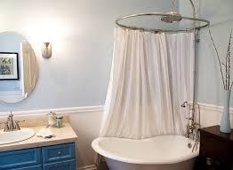 Clawfoot Tub Shower Curtain Liner Clawfoot Tub Shower Plan Ideas The Kienandsweet Furnitures