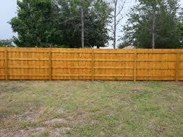 florida wood wood fence ta florida ta wood fence installers
