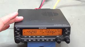 64 ham radio repair kenwood tm v71 no transmit youtube