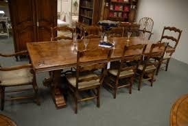 Refectory Tables Oak Farmhouse Kitchen Tables Canonbury Antiques - Antique oak kitchen table
