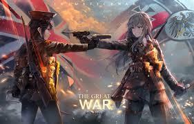 anime wallpapers girls sword fighting wallpaper colt bishojo rifle blade battlefield 1 fight war