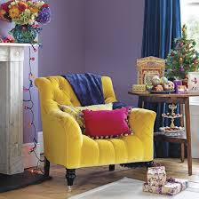 decorating with contrasting colours living rooms purple and room