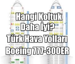 layout plani nedir uçaklarda koltuk planı türk hava yolları boeing 777 göklerdeyiz