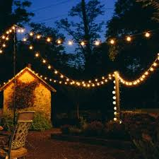 how to put lights on a tree outdoors outdoor string lights you ll love wayfair