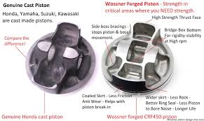 kawasaki kxf 250 piston kit wossner