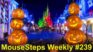 mousesteps weekly 239 mickey u0027s not so scary halloween party 2017