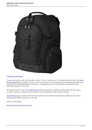 Most Comfortable Camera Backpack Big List Of The Most Popular Camera Bags
