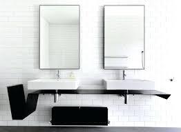 Metal Framed Mirrors Bathroom Black Framed Bathroom Mirrors Black Frame Mirrors For Bathroom