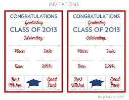 free graduation party printables from printabelle catch my party