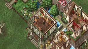 House Building Online by Ultima Online The Most Beautiful Houses самые красивые дома в