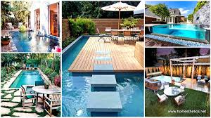 home design backyard patio with pool ideas industrial large