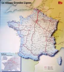 Germany Rail Map by France U0026 Paris Train Rail Maps