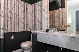 Black And White Wallpaper For Bathrooms - 17 beautiful black bathrooms