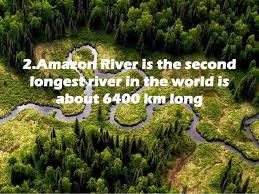 8 facts on river