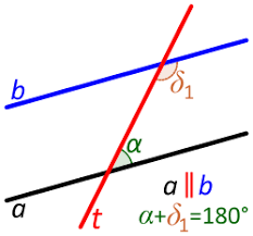 Definition Of Interior Angles Transversal Geometry Wikipedia