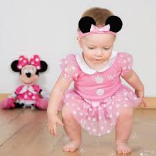 Minnie Mouse Clothes For Toddlers Girls Baby Toddler Pink Disney Minnie Mouse Fancy Dress Costume