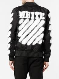 off white cheap virgil off white spray paint bomber jacket 1001