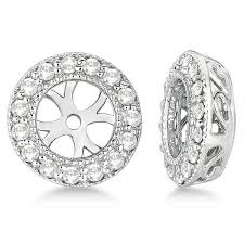 what size diamond earrings should i buy best 25 diamond earring jackets ideas on accessorize