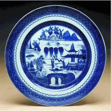 canton porcelain blue canton dinner plate 10 ps dinner plates