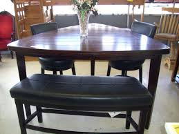 bench style dining room tables pub dining room table sets wonderful pub style dining room sets