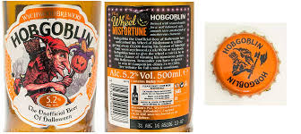 halloween lables hobgoblin celebrates halloween doctor ale
