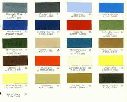 dodge challenger specs 1972 chrysler color charts