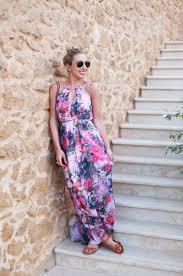london floral maxi dress