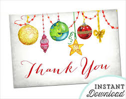 christmas thank you cards christmas thank you cards 19 documents in psd vector