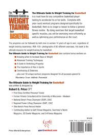 the ultimate guide to weight training for basketball ultimate
