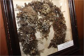 hair wreath prairie trails museum hair wreath