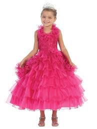 beautiful pageant dress for little girls tea length pageant