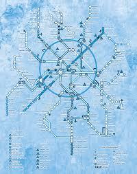 Metro 2033 Map by Karte4