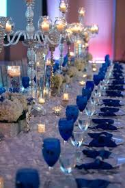 blue centerpieces wedding centerpiece ideas blue decorating of party light table
