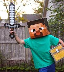 minecraft steve costume project denneler minecraft steve costume