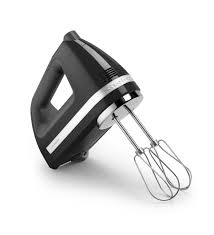 7 speed digital hand mixer onyx black kitchenaid