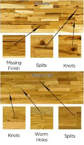 rustic grade flooring explained