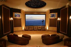 Modern Media Room Ideas - home cinema curtains zamp co