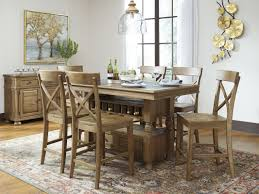 Counter Height Dining Room Table Signature Design By Ashley Trishley Counter Height Dining Table