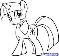coloriage my little pony little pony pinterest pony